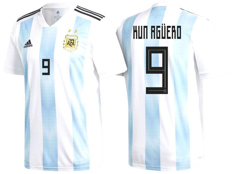 2018 Argentina Soccer Jersey sergio aguero  d607db6df193