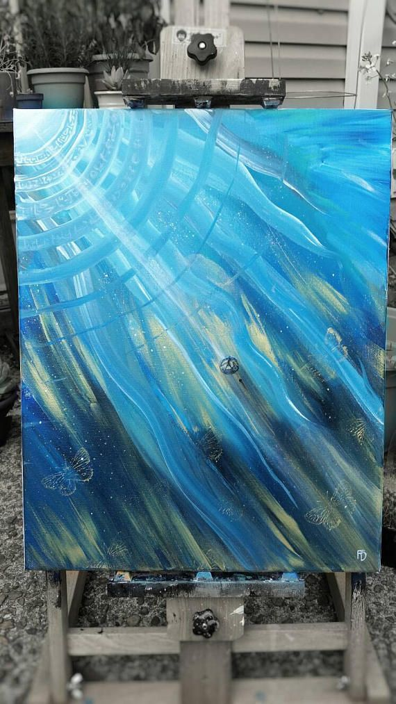 Surreal Art Surreal Painting Space Canvas Painting