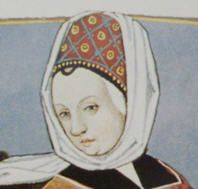 The toque is a bit less overbearing than the Hennin and looks more like a normal hat with or without a veil. http://medieval-bride.blogspot.com/2011/06/medieval-crazy-womens-hats.html