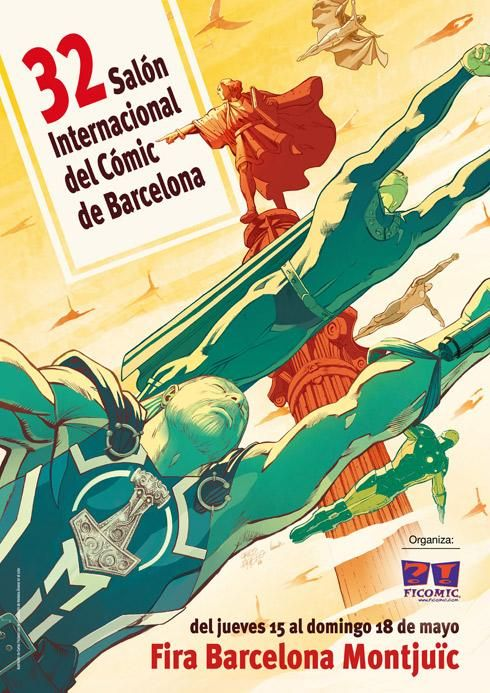 32º Salón Internacional del Cómic de Barcelona