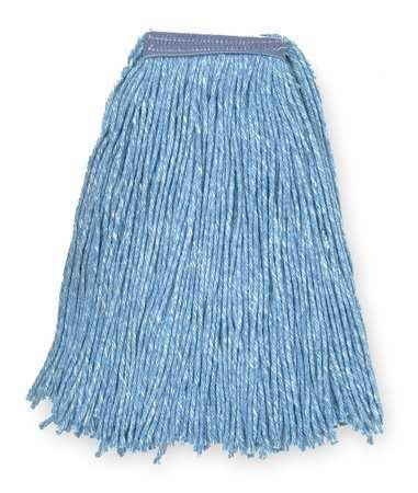 4-Ply Cut-End Wet Mops Wet Mop,Sz 16 oz., Blue,Cut End by VALUE BRAND. $3.19. Looped-End Wet Mop, Material Cotton, Dry Weight 8 to 16 oz., Blue, Launderable Yes, Headband Size 1 In., Length 15 In., Width 6-1/2 In., 4 Ply