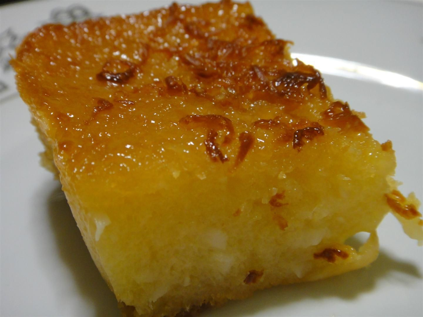 milk and cassava cake Cassava cake is one of the filipino delicacies or kakanin, it can be soft and chewy (that's what i like) or firm it is easy to make and the ingredients are easy to find especially if you have cassava planted in your garden.