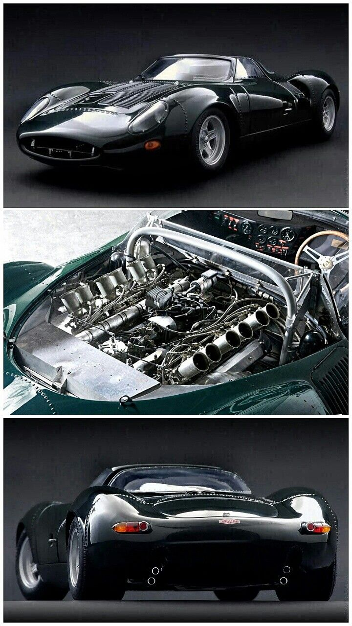 1966 Jaguar Xj13 R Prototype Le Mans Racing Car With 700hp 5 0 L