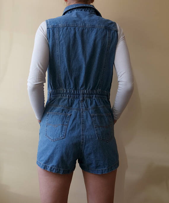 82e6a4fdb64 Vintage Denim Jumpsuit