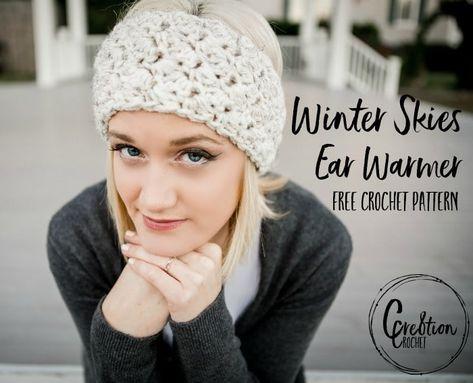 Winter Skies free ear warmer crochet pattern - Cre8tion Crochet ...
