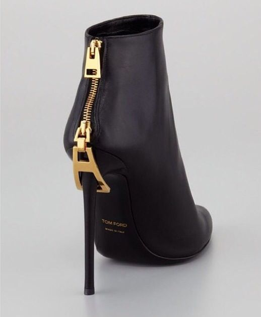 Tom Ford boots zipper