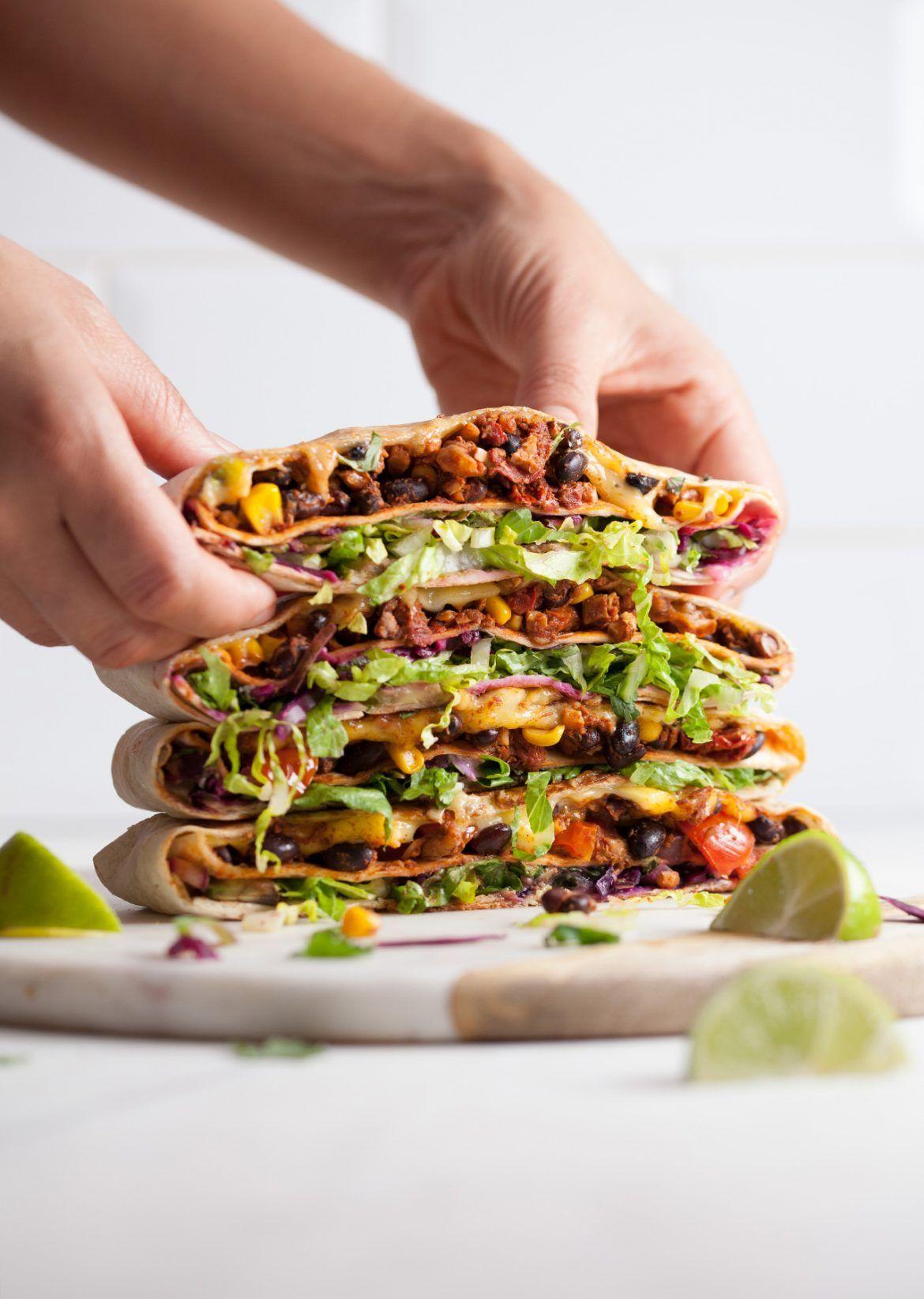 Vegan Crunchwrap Supreme Crunch wrap supreme, Mexican