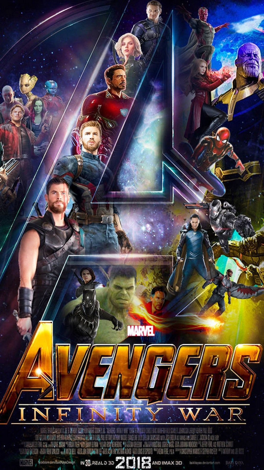 Avengers infinity war wallpaper for android best android - Fondos de pantalla 3d avengers ...