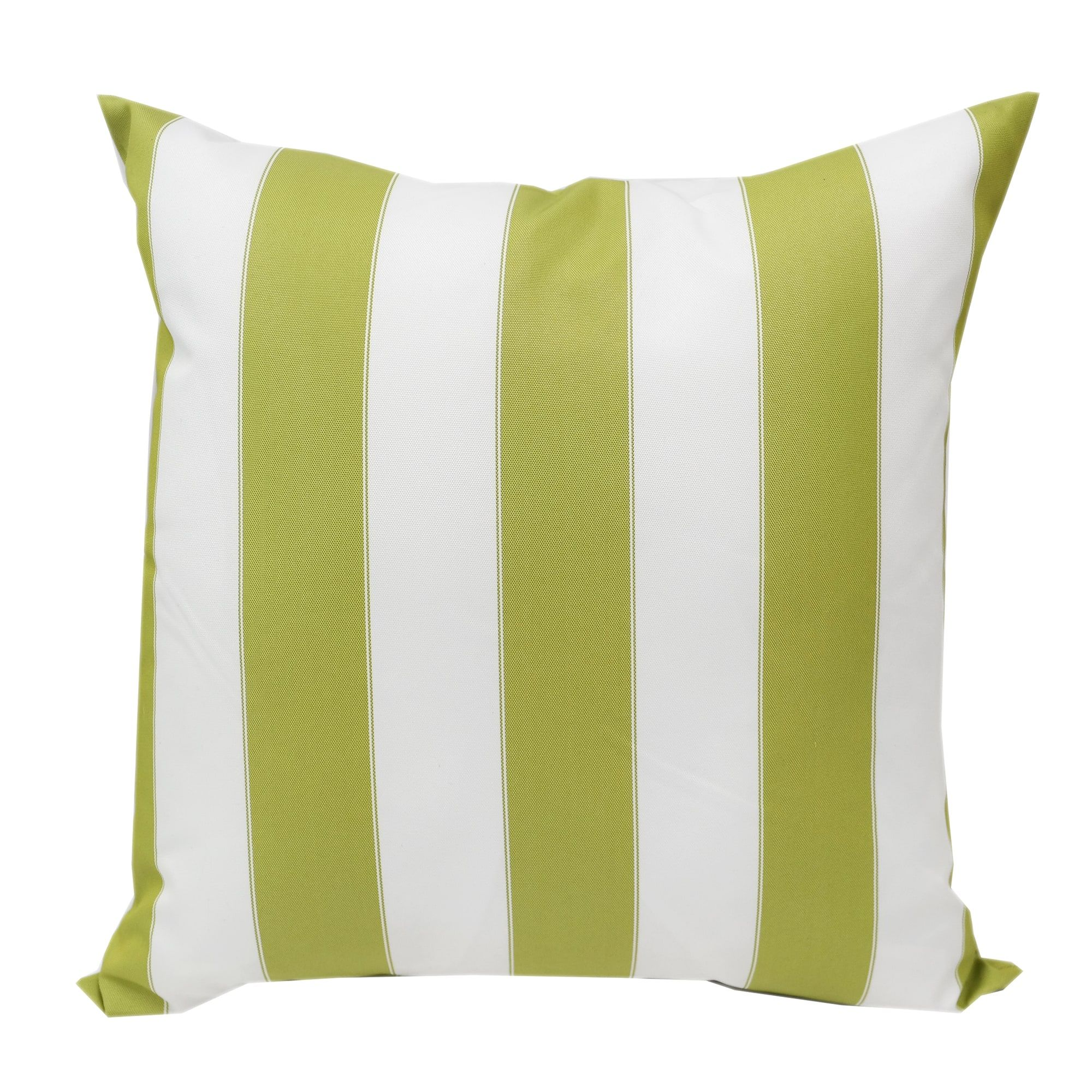 Blue And White Striped Outdoor Throw Pillow From Home Accent Pillows