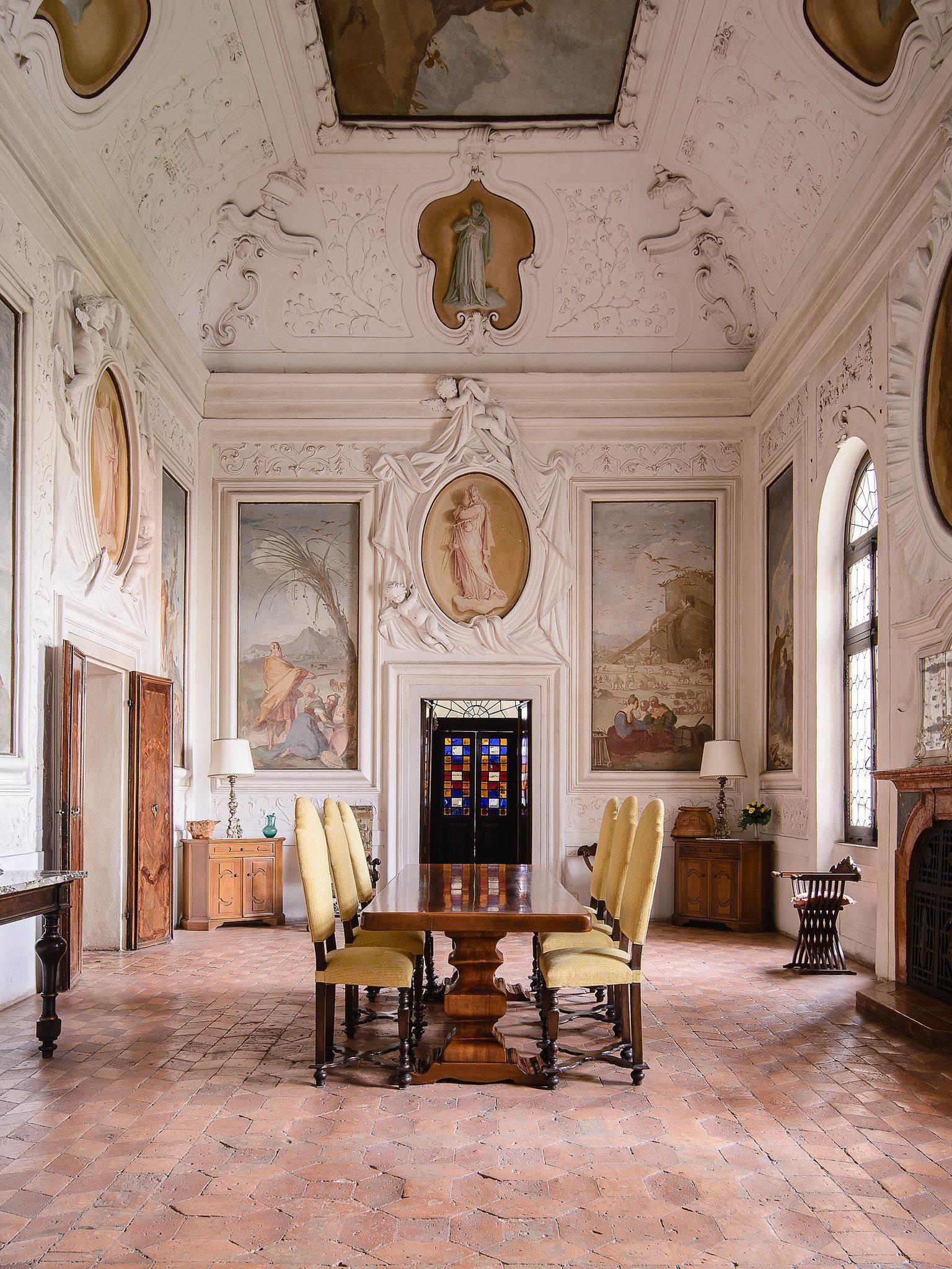 A Palladian Villa In Italy Italian Interior Design Italy House Villas In Italy