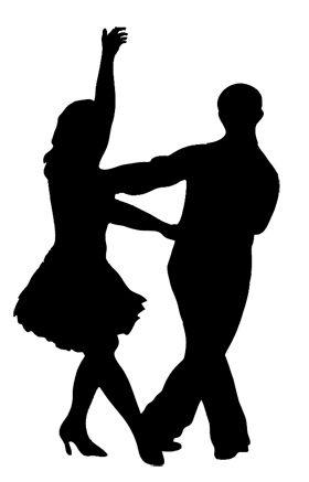 Dancer Silhouette Jive Dancer Silhouette Ballroom Dancing Salsa Dancing