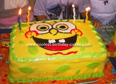 Spongebob Cake Cake Birthday cakes and Cake business