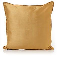 Wilko Cushion Faux Silk Paris Sunshine