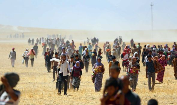 Yazidi teen set herself ON FIRE in desperate bid to stop Islamic State jihadis raping her