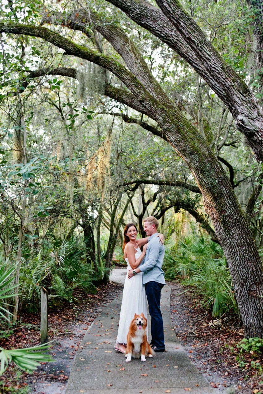 Delray Beach Natural Oaks Engagement Photography Candra Photo