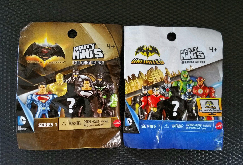 Batman v Superman Mighty Minis Series 3 BATMAN Figure