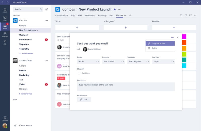 A Few Updates To Planner Integration In Microsoft Teams Microsoft Planner Teams