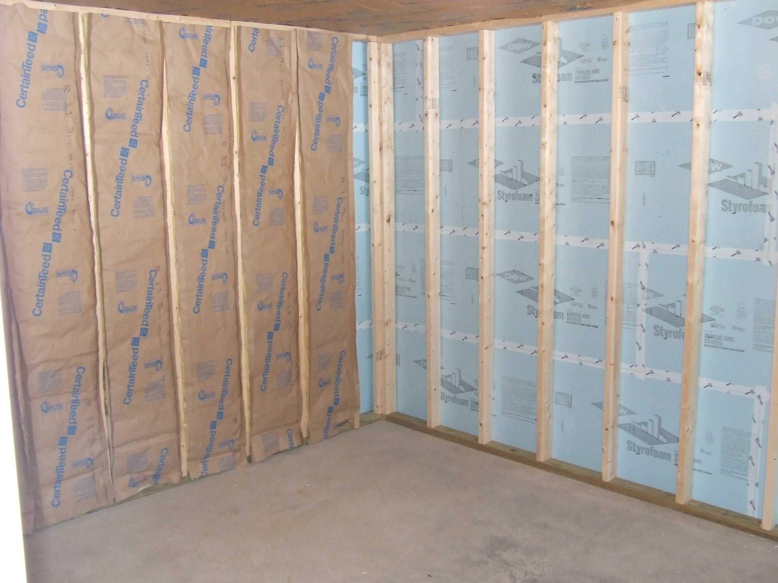 Best Batt Insulation For Basement Walls Basement Insulation Insulating Basement Walls Finishing Basement Walls