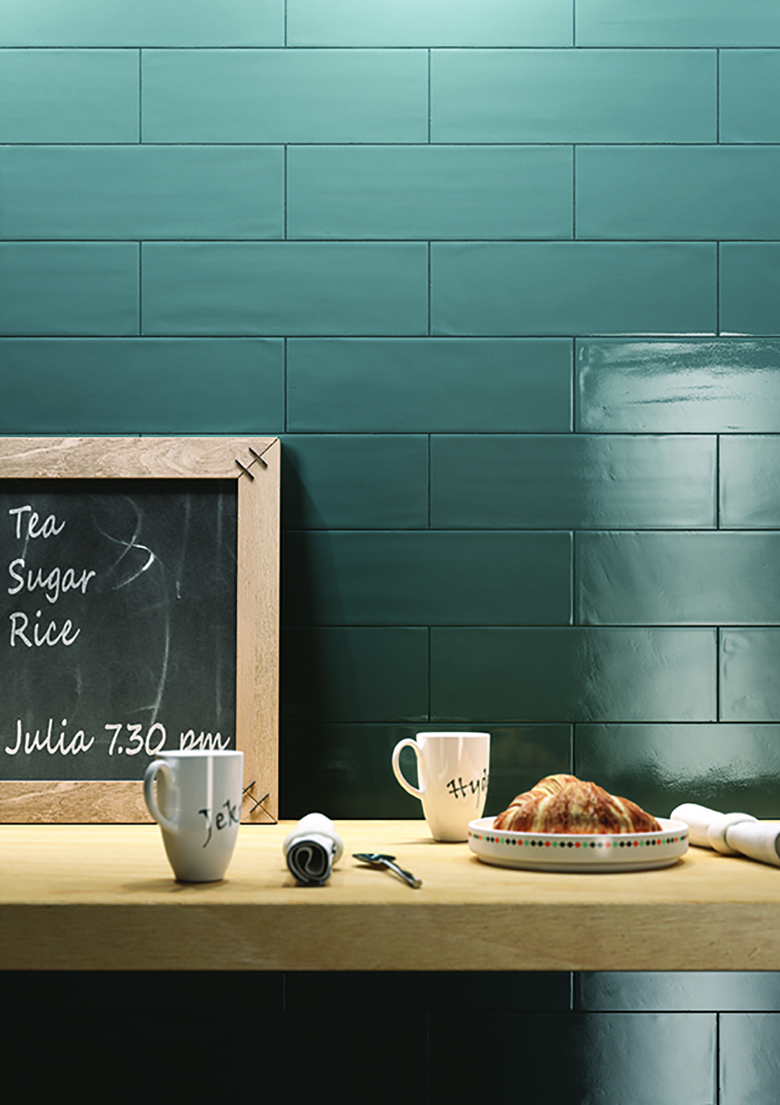 Brick Glossy - coverings for kitchen | Ragno | Cottage on Lex ...