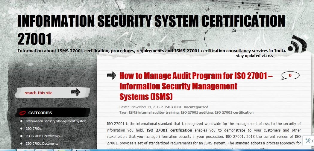 How To Manage Audit Program For Iso   Information Security