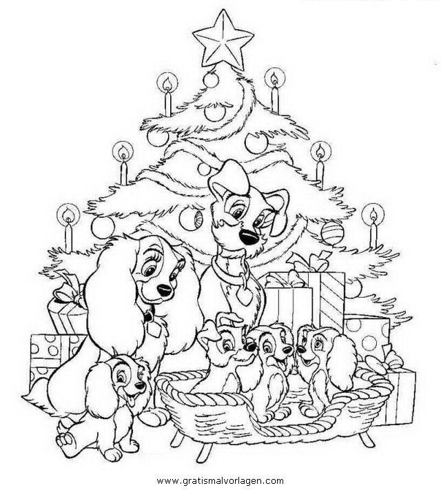 ausmalbilder weihnachten disney – Ausmalbilder für kinder ...