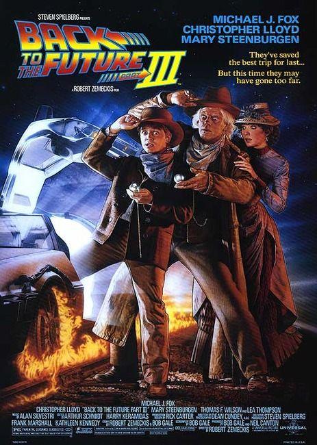 Back To The Future Part Iii De Volta Ao Futuro Filmes Vintage