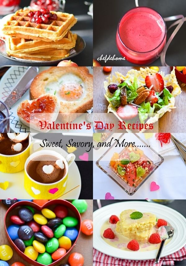 20 sweet and savory valentines day recipes food porn share 20 sweet and savory valentines day recipes forumfinder Choice Image