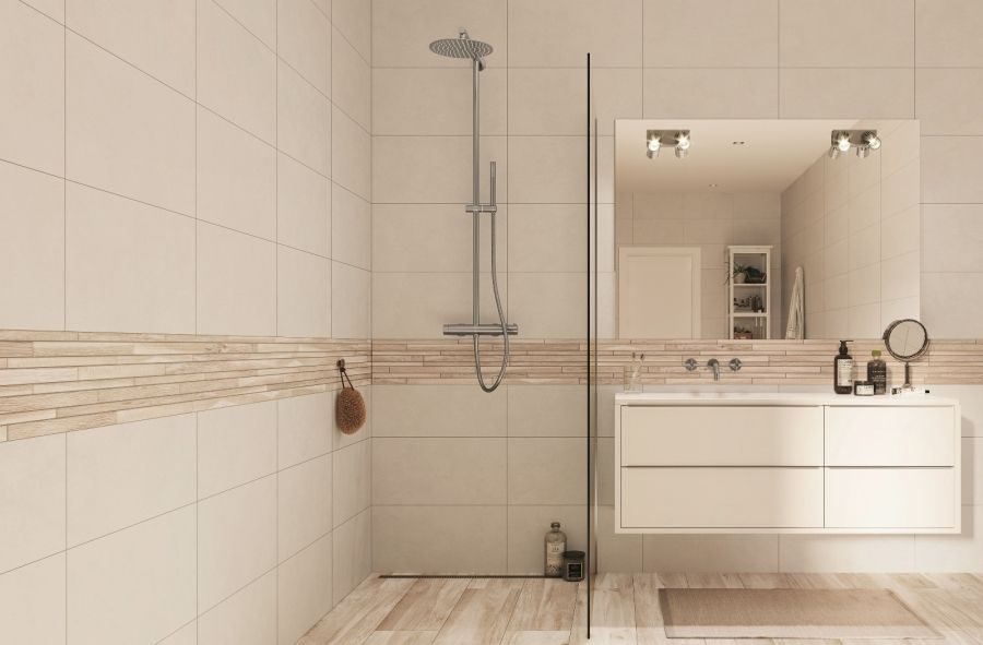 Beige Badezimmer Trends Fliesen