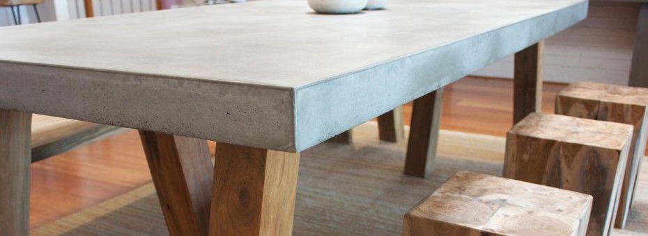 Concrete Outdoor Dining Table Australia Alasweaspire