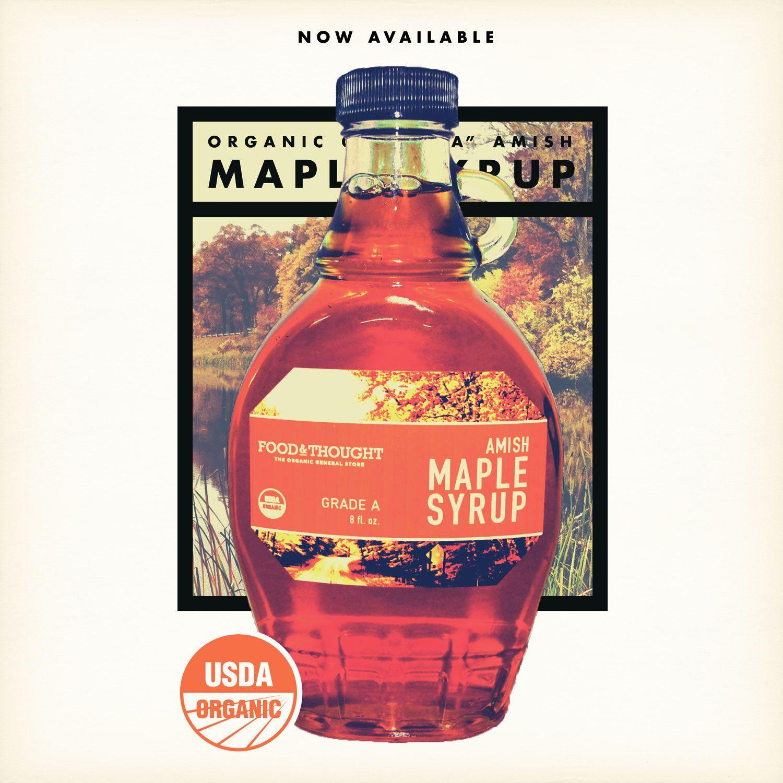 Advertisement Organic Amish Maple Syrup Bottle Maple Syrup Bottles Syrup Bottle Bottle
