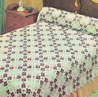 cutecrocs.com crochet bedspread (31) #crocheting | Crocheting ...