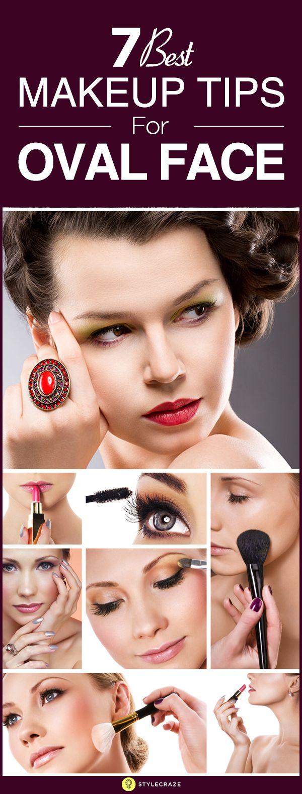 7 Best Makeup Tips For Oval Face Best makeup tips, Best