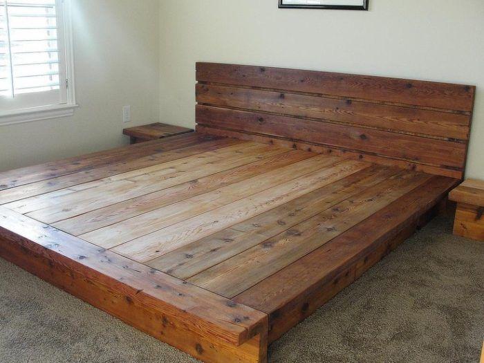 Lovable Furniture King Platform Bed Frames Selections Low Profile