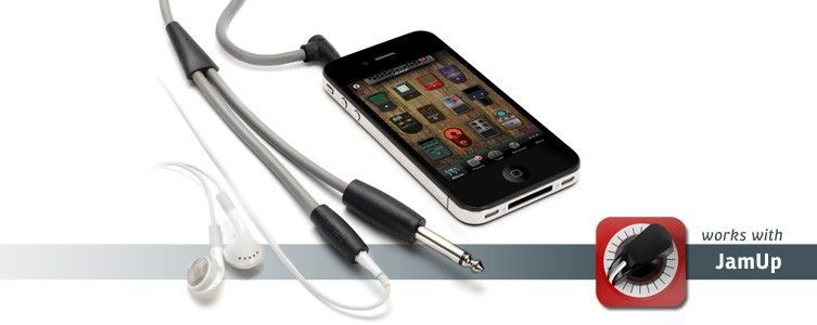 ishred our guitarconnect cable turns your iphone ipod or ipad into the most portable guitar. Black Bedroom Furniture Sets. Home Design Ideas