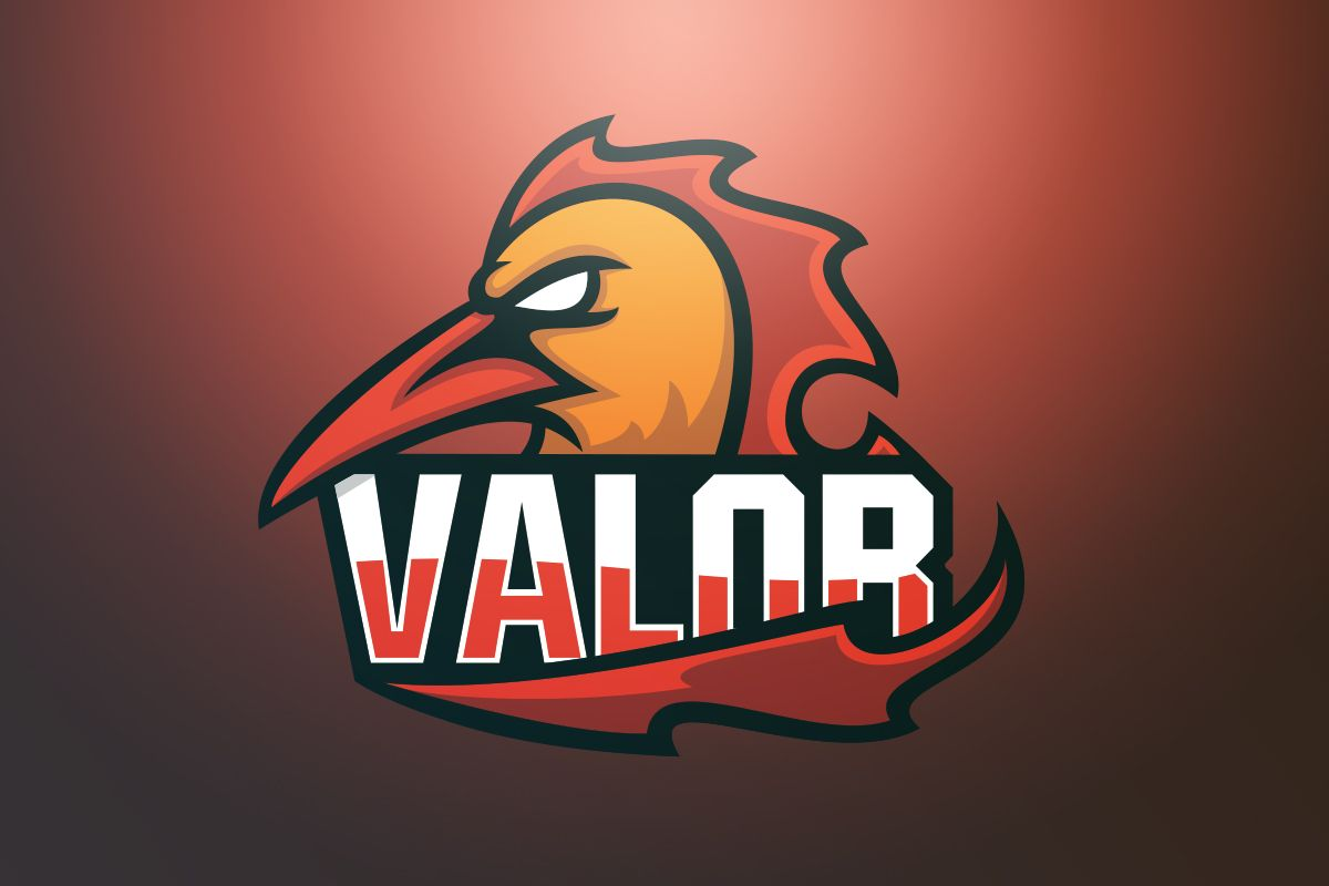 I heard you guys out again and gave the Team Valor logo another go. Here it is.
