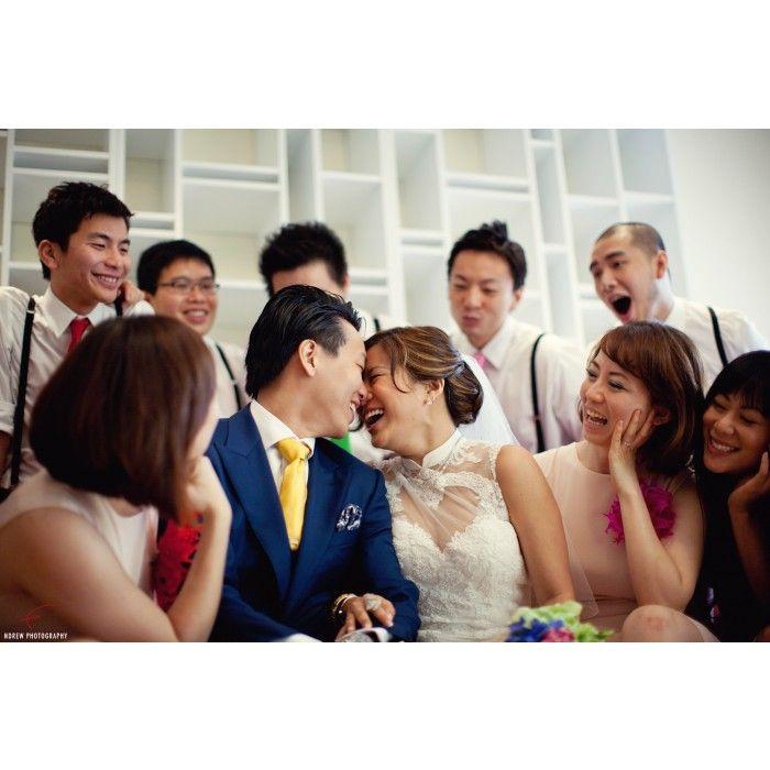 Wedding Photographers : Ndrew Photography #Modern #Reception #Indoor