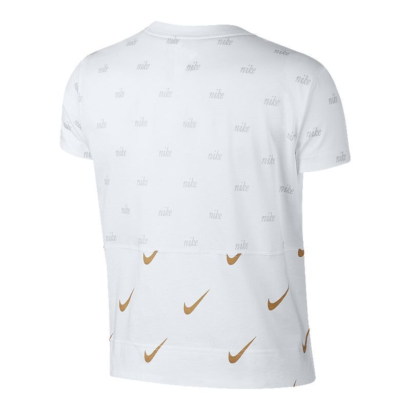 Nike Sportswear Women S Metallic T Shirt Nike Sportswear Sportswear Urban Outfits