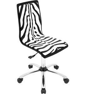 Strange With The Zebra Print Office Chair You Can Easily Bring A Fun Caraccident5 Cool Chair Designs And Ideas Caraccident5Info