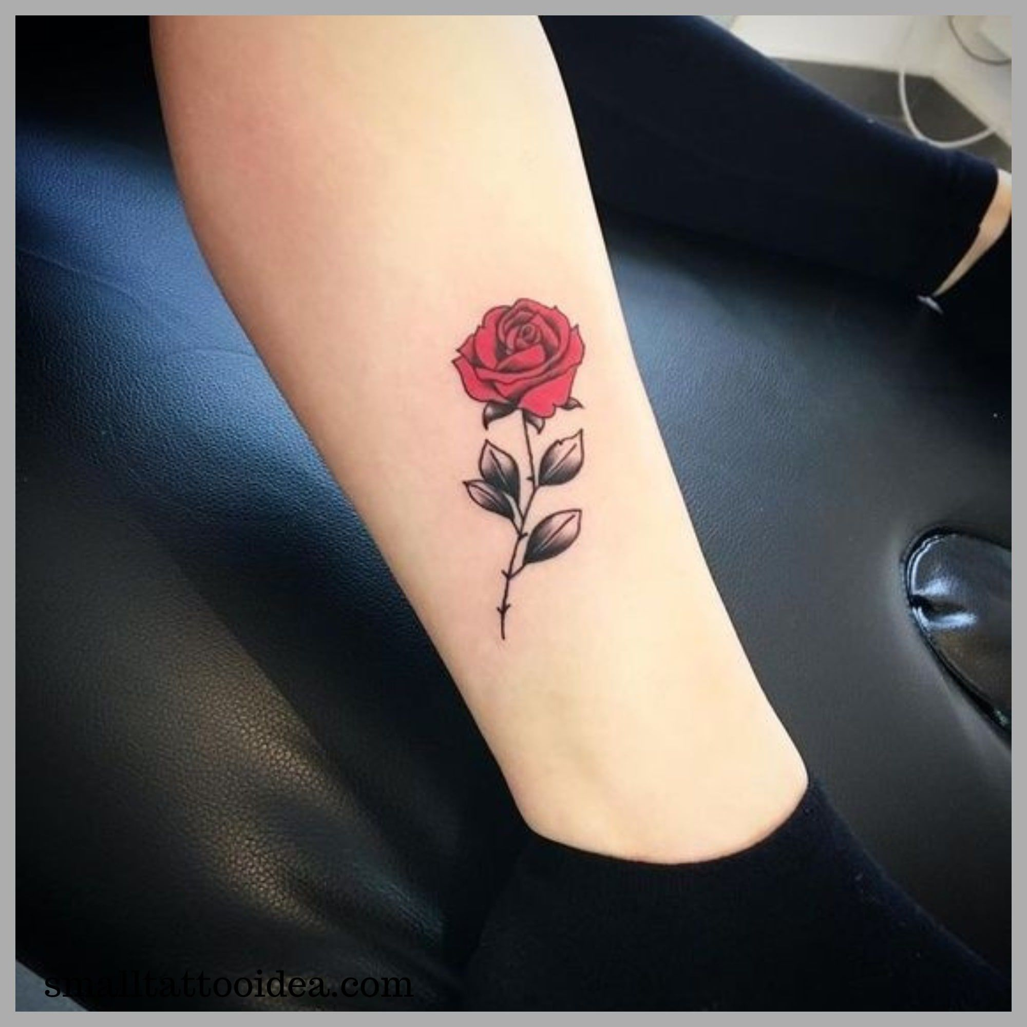 35 Small Red Rose Tattoo Ideas For Girls Tattoo Type Tattoo Tiny Rose Tattoos Small Tattoos