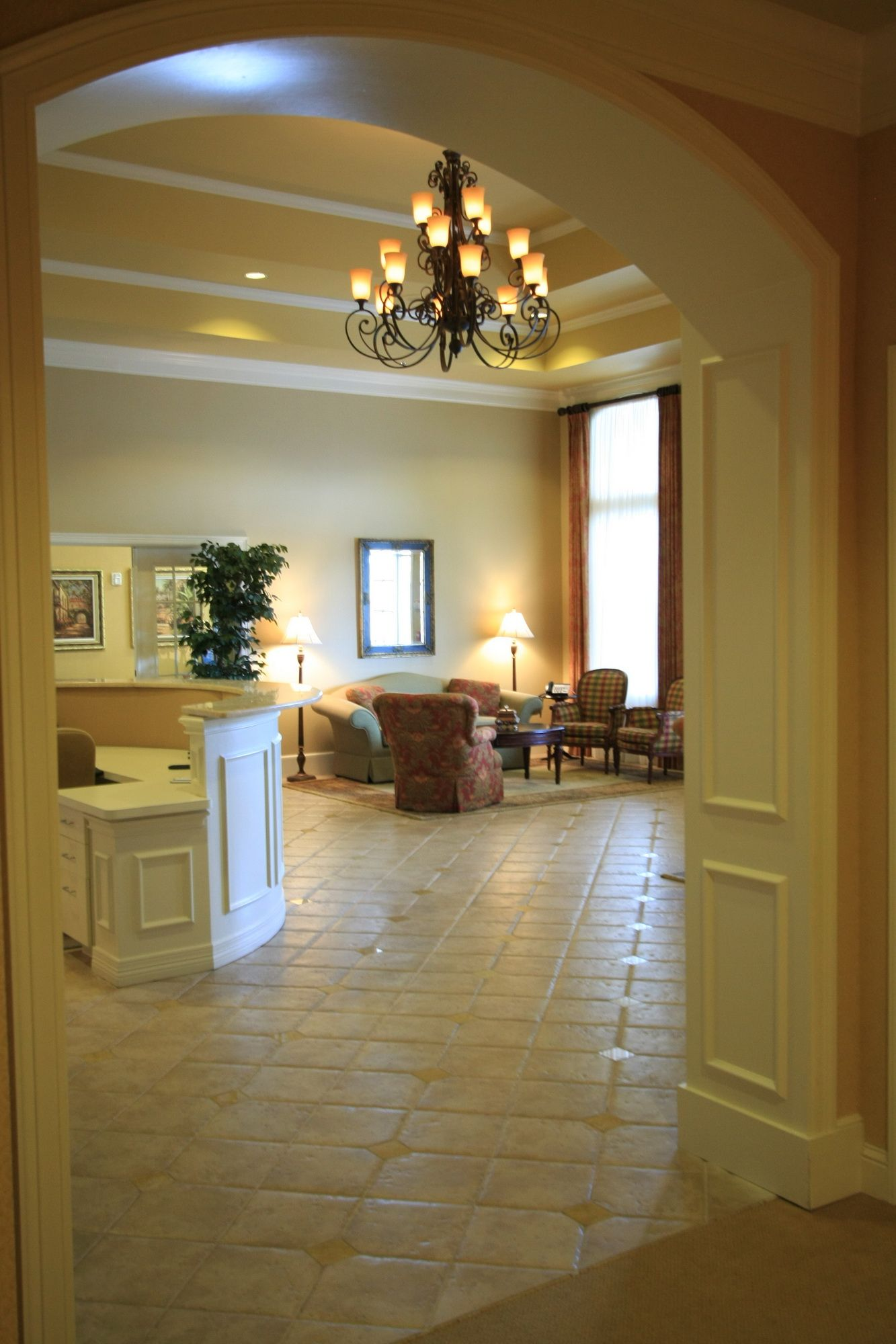 Elegant Funeral Home Interior Colors | Biggers Funeral Home