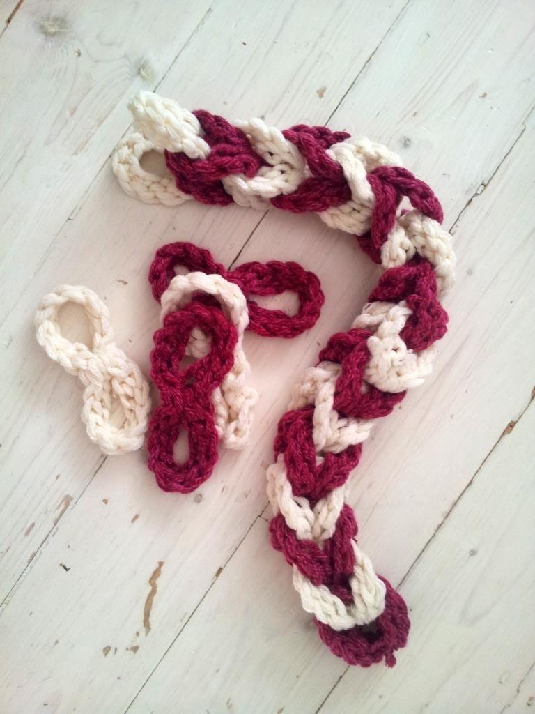 Crochet Chain Link Scarf Pattern | amén | Pinterest | Crochet chain ...