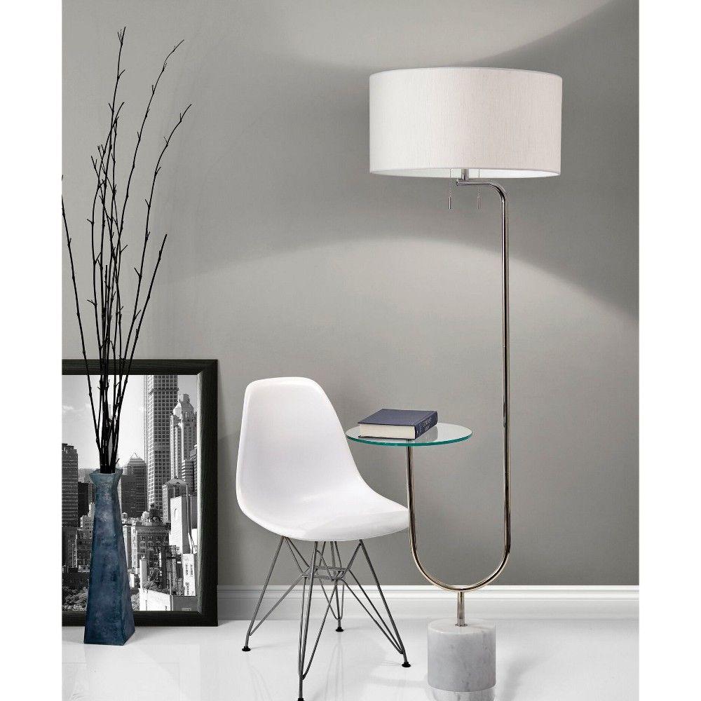 Adesso Sloan Shelf Floor Lamp Medium