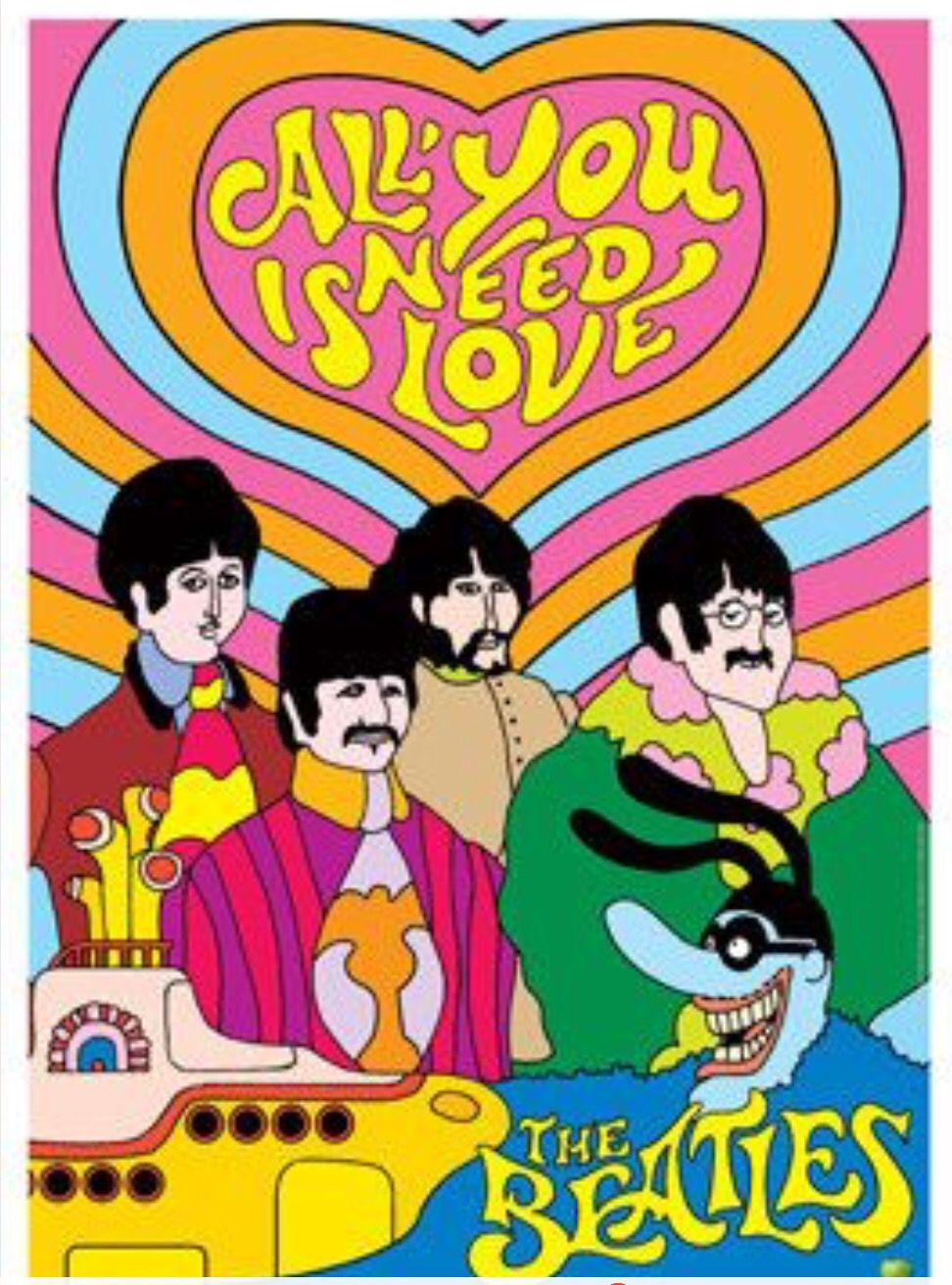 Обои The beatles, sgt. peppers lonely hearts club band, yellow submarine. Музыка foto 12