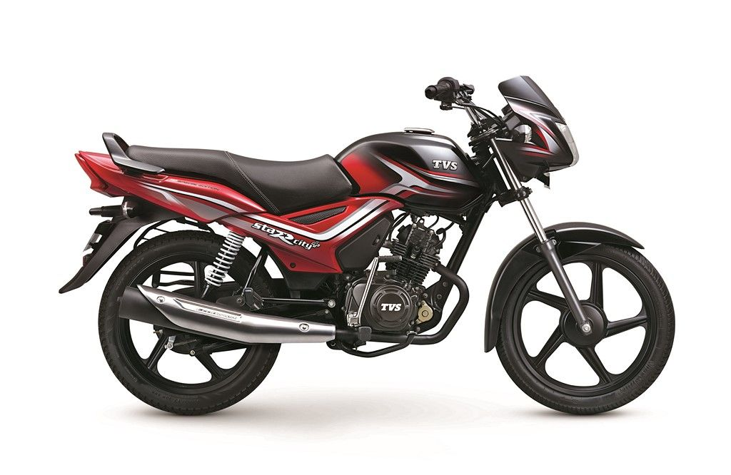 Tvs Star City Dual Tone Colours Launched Priced At Rs 50 534 Stars Cool Bikes Bike India