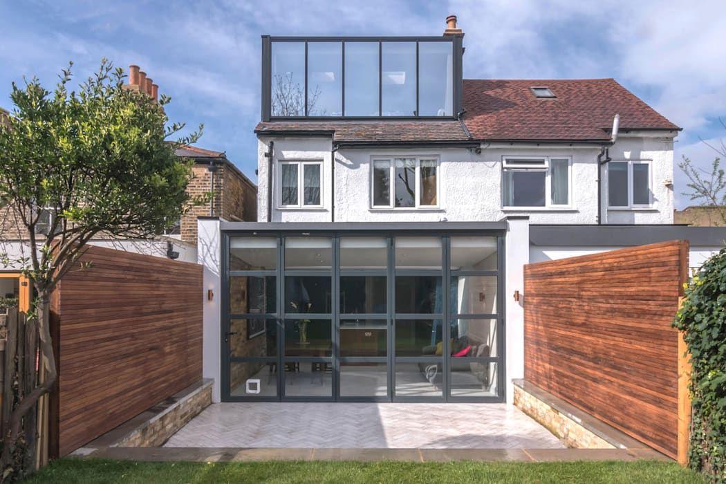 East dulwich 1 proctor & co architecture ltd moderne häuser glas schwarz