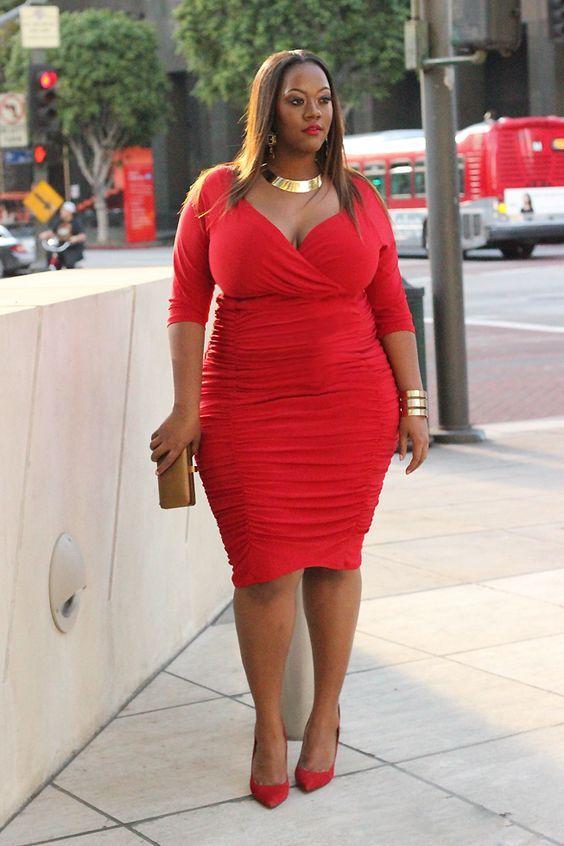 Curvalicious Clothes :: Plus Size Dresses :: Ambrosia Dress in ...