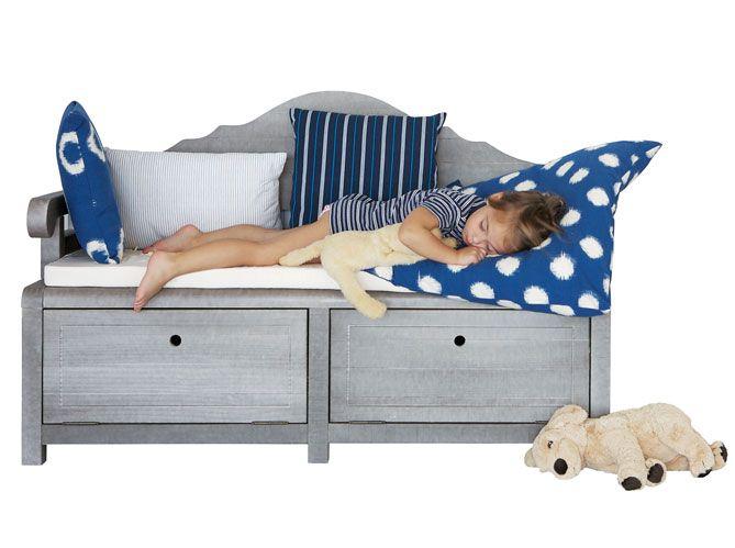 Tout l'esprit Long Island - Elle Décoration   Furniture, Toddler bed, Home