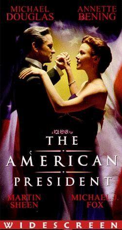 """""""THE AMERICAN PRESIDENT""""  (1995) MICHAEL DOUGLAS, ANNETTE BENING, MARTIN SHEEN"""