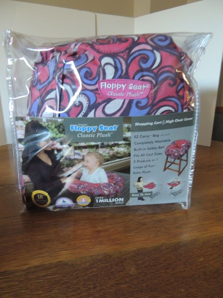Sold Floppy Seat Shopping Cart Or Highchair Cover Bag Brand New