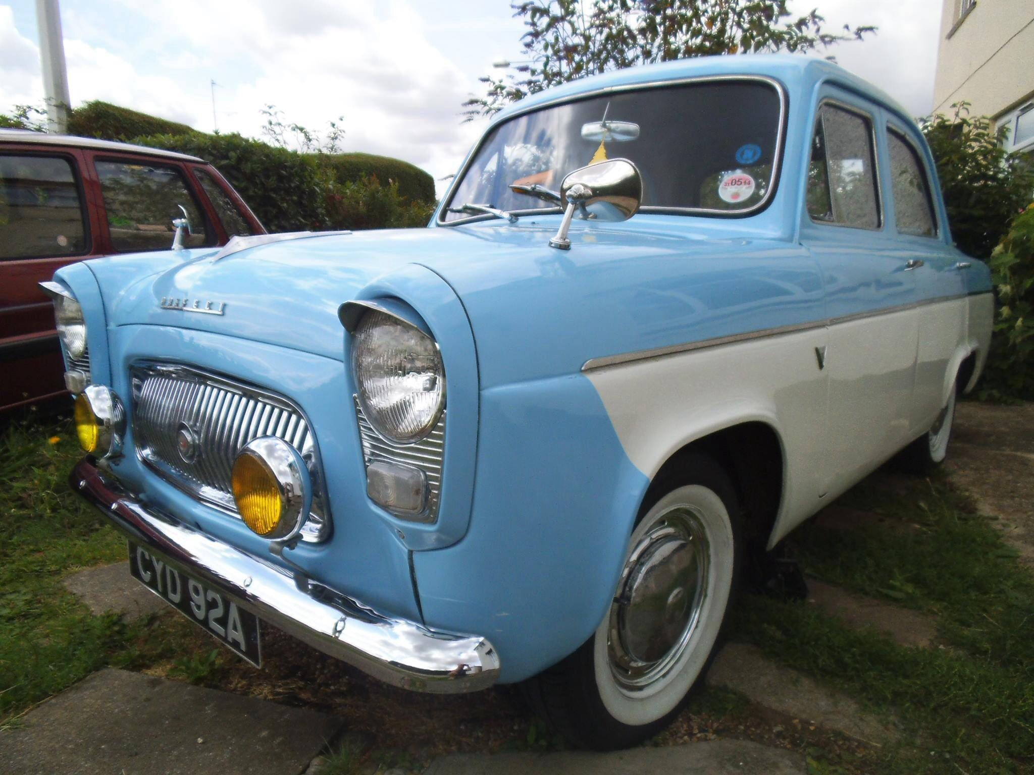 Ford Prefect Commercial Vehicle Posh Cars Ford Anglia